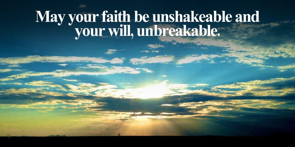 faith unshakable